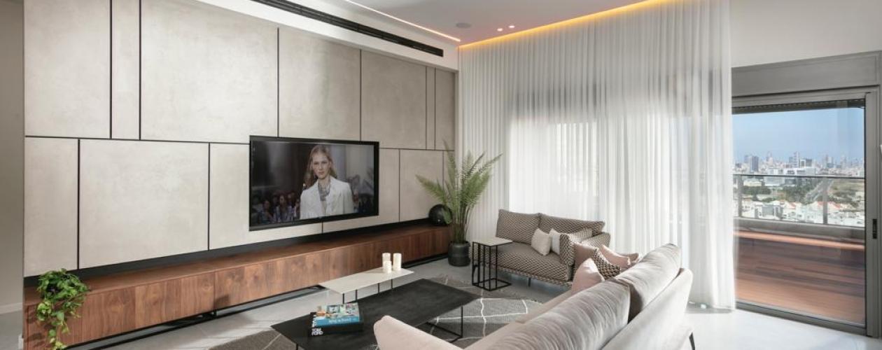 נגרות מודרנית לסלון